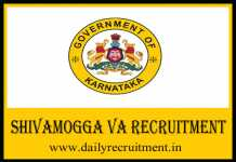 Shivamogga VA Recruitment 2020