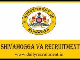 Shivamogga VA Recruitment 2020