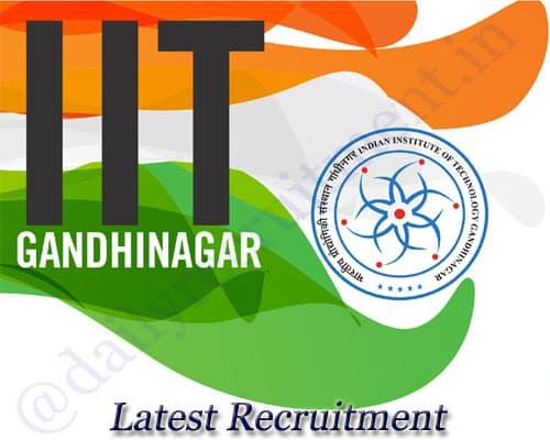 IIT Gandhinagar Recruitment 2020