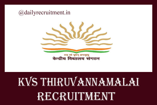 KVS Thiruvannamalai Recruitment 2020