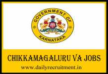 Chikkamagaluru VA Recruitment 2020