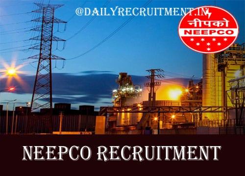 NEEPCO Recruitment 2020