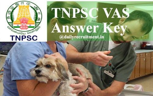 TNPSC VAS Answer Key 2020