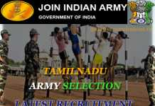 Tamilnadu Army selection 2020