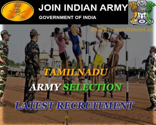 Tamilnadu Army selection 2020