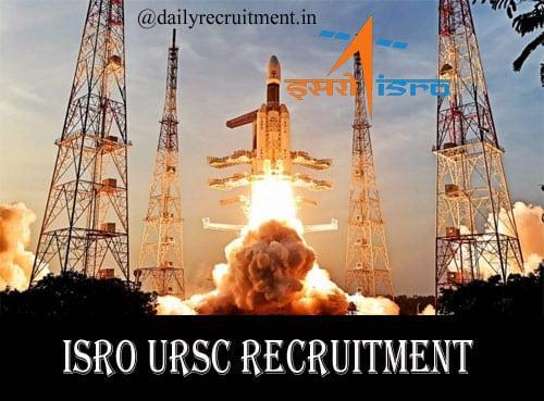 ISRO URSC Recruitment 2020