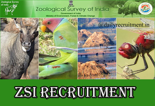 ZSI Recruitment 2020