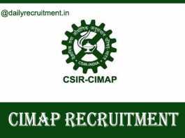 CIMAP Recruitment 2020