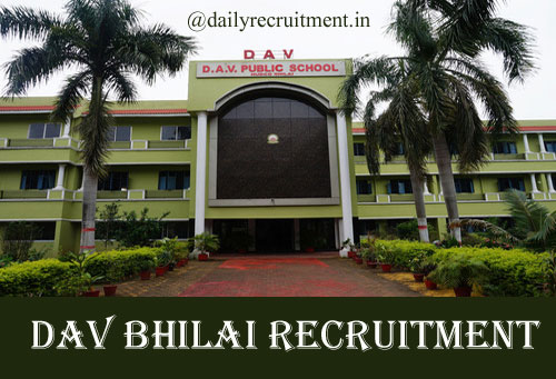 DAV Bhilai Recruitment 2020