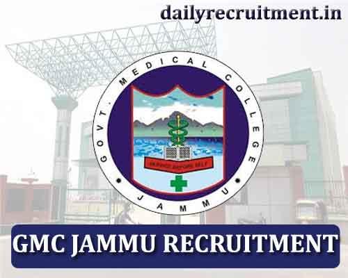 Gmc Jammu Recruitment 2020 Apply For 125 Staff Nurse Other Vacancies Gmcjammu Nic In