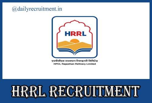 HRRL Recruitment 2020