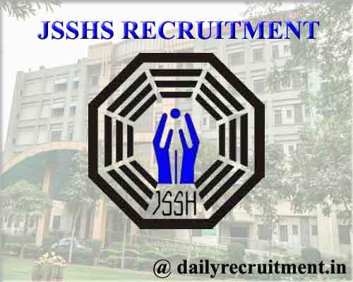 JSSHS Recruitment 2020