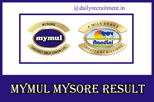 MYMUL Mysore Result 2020