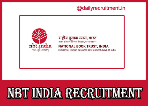 NBT India Recruitment 2020