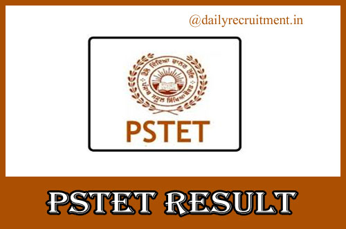 PSTET Result 2020