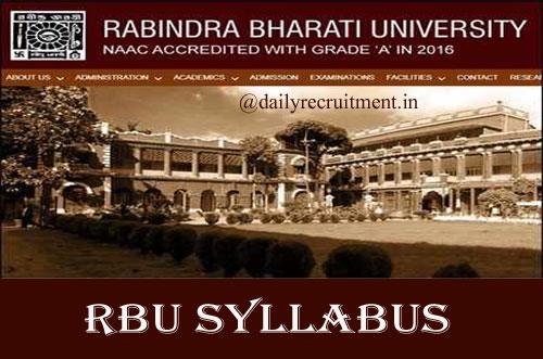 Rabindra Bharati University Syllabus 2020