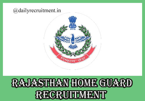 Rajasthan Home Guard Recruitment 2020