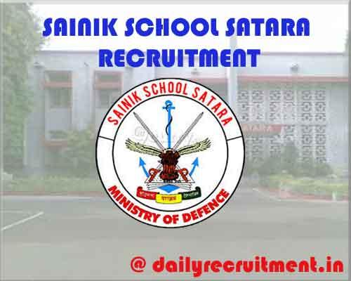 SAINIK SCHOOL SATARA Recruitment 2020