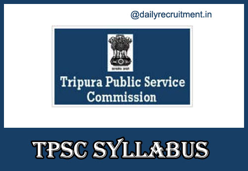 TPSC Civil Services Syllabus 2020
