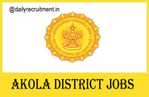 Akola District Jobs 2020