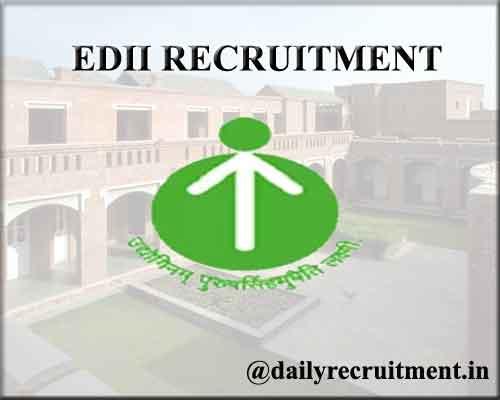 EDII Recruitment 2020
