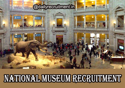 National Museum Recruitment 2020
