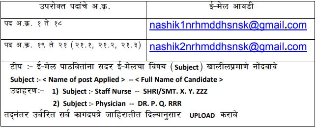 Arogya Vibhag Recruitment 2020