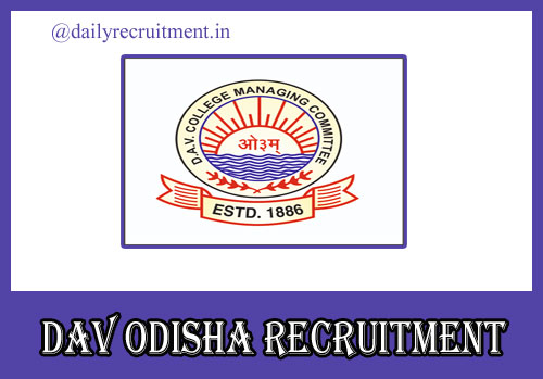 DAV Odisha Recruitment 2020