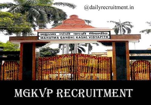 MGKVP Recruitment 2020