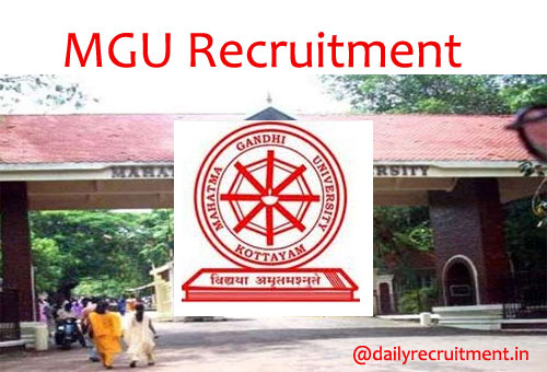 MGU Recruitment 2020