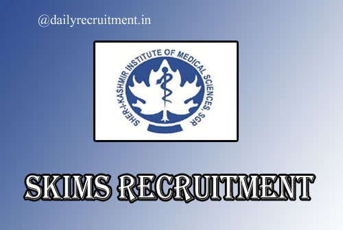 SKIMS Recruitment 2020