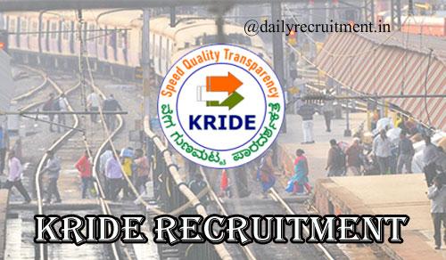 KRIDE Recruitment 2020