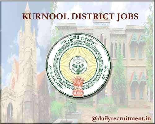 Kurnool District Jobs 2020