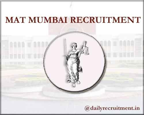 MAT Mumbai Recruitment 2020