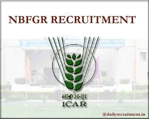 NBFGR Recruitment 2020