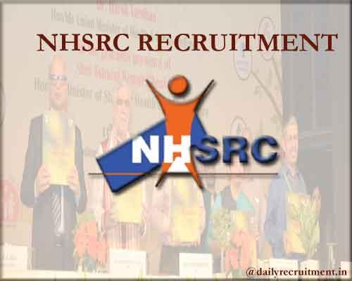 NHSRC Recruitment 2020