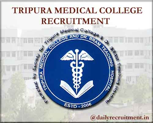 Tripura Medical College Recruitment 2020