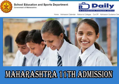 Maharashtra 11th Online Admission 2020