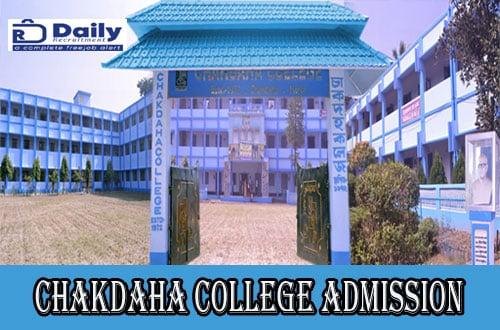 Chakdaha College Admission List 2020