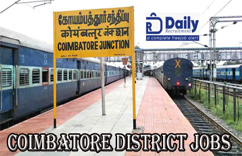 Coimbatore District Jobs 2020