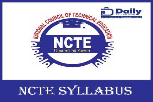 NCTE Syllabus 2020