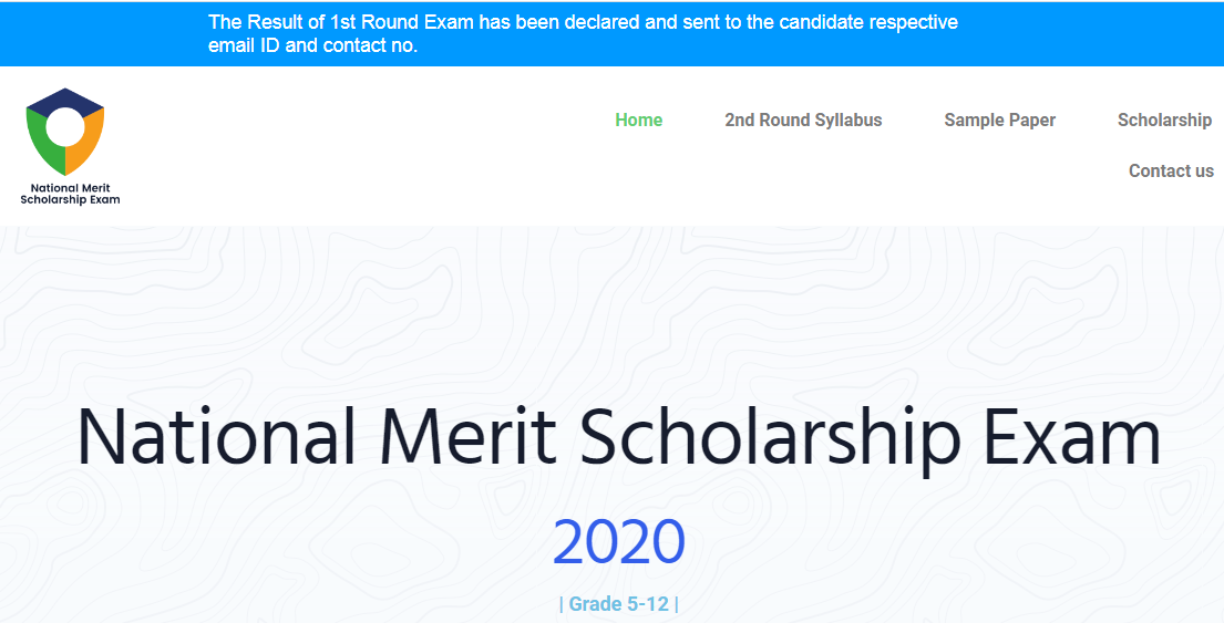 NMSE Scholarship Result 2020
