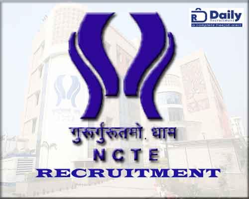 NCTE Recruitment 2020