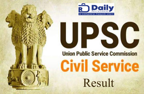 UPSC Civil Services Result 2020