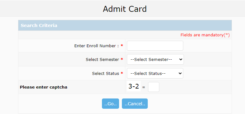 DAVV Admit Card 2020