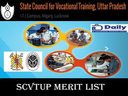 SCVTUP Merit List 2020