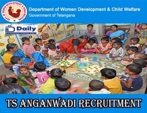 Telangana Anganwadi Recruitment 2020