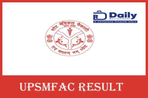 UPSMFAC Result 2020