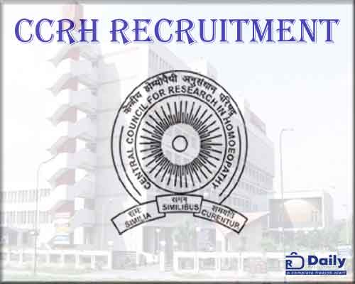ccrh recruitment 2020