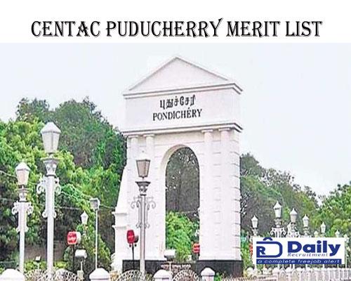CENTAC Merit List 2021